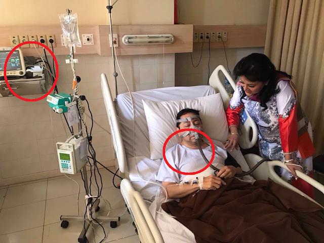 Dua Keganjilan Foto Setya Novanto di Rumah Sakit