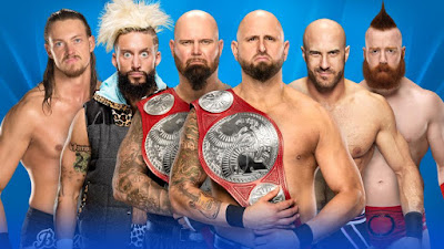 Luke Gallows & Karl Anderson vs. Enzo Amore & Big Cass vs. Cesaro & Sheamus
