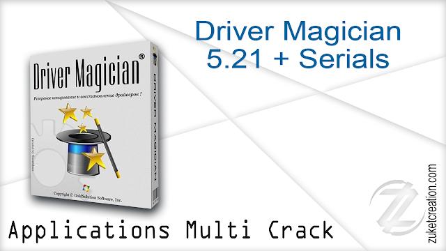 Driver Magician 5.21 + Serials