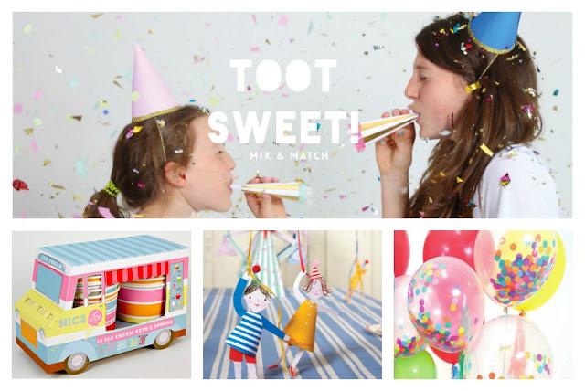 Meri Meri Toot Sweet Party Collection