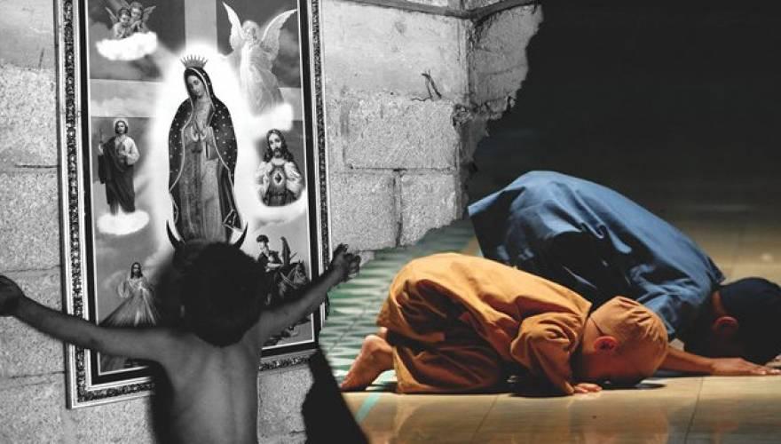 Ένας Χριστιανός που βγαίνει με έναν μουσουλμανικό
