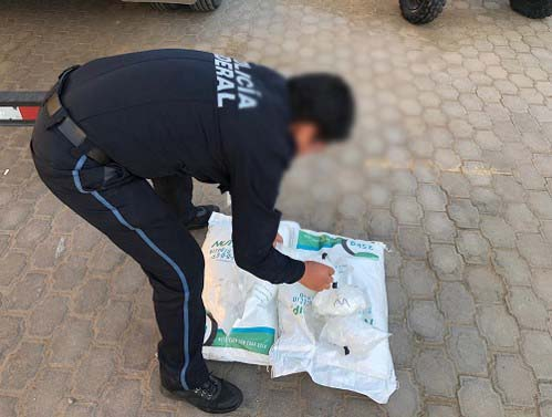 POLICÍA FEDERAL Y SEDENA ASEGURAN MÁS DE 380 KILOS DE METANFETAMINA EN BAJA CALIFORNIA