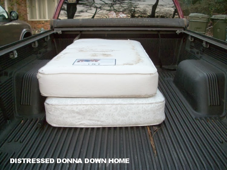 Distressed Donna Down Home Two Crib Mattresses Short A Baby