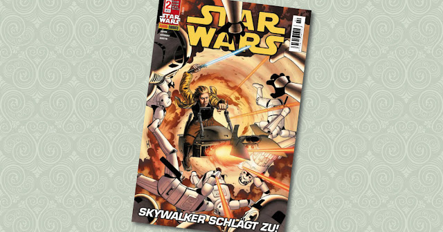 Star Wars 2 Panini Cover