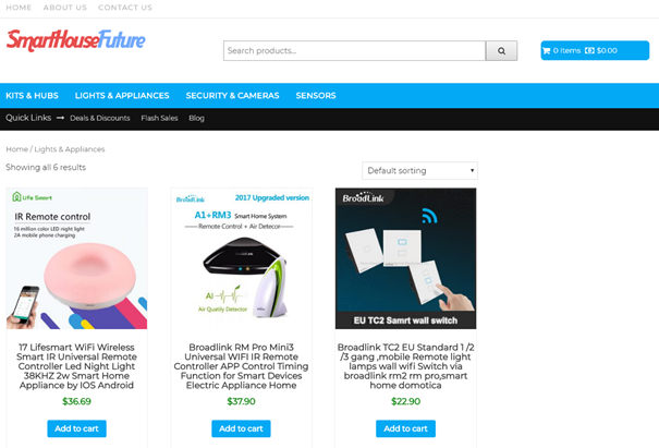 Category page WooCommerce WP