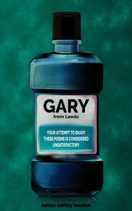 Your Attempt to Enjoy These Poems is Considered Unsatisfactory by Gary from Leeds