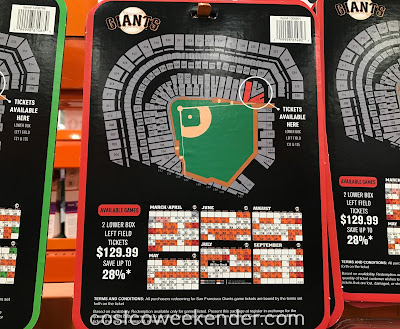 Costco 1206801 - Come see Buster Posey and Madison Bumgarner with Giants tickets from Costco