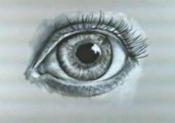 Göz resmi çizim teknikleri -8