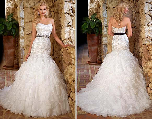 Ella Bridal Dress 5680 Dolce Satin And