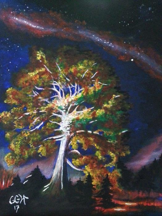 obraz akrylami na płótnie ggw gallery