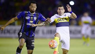 Boca Juniors vs Independiente del Valle en Copa Libertadores 2016