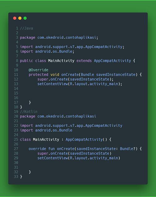 Convert Java ke Kotlin Android Studio