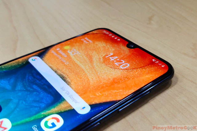 Galaxy A30 Review | Pinoy Metro Geek