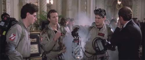 Harold Ramis, Bill Murray, Dan Aykroyd in Ghostbusters