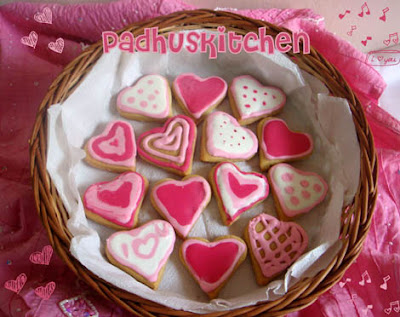 Sugar cookies--Valentine's Sugar Cookies