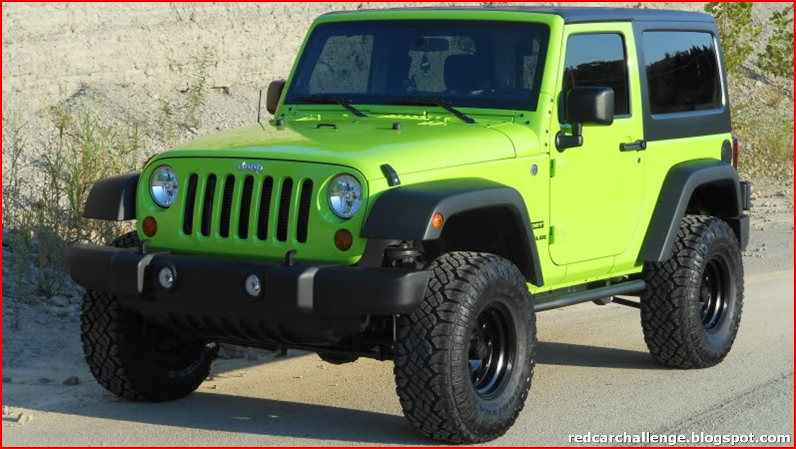 Lime Green Jeep Wrangler for Sale