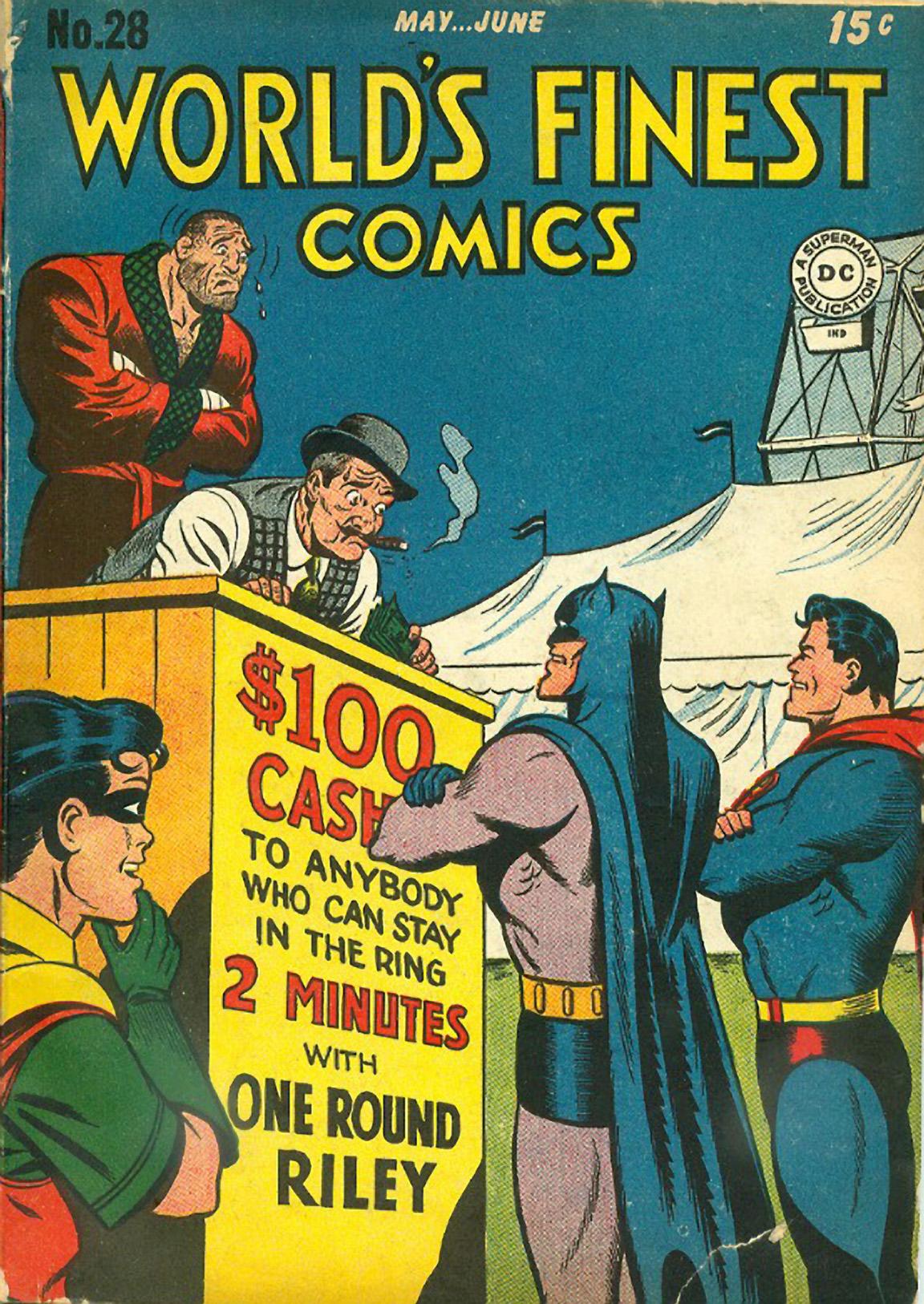 Read online World's Finest Comics comic -  Issue #28 - 1