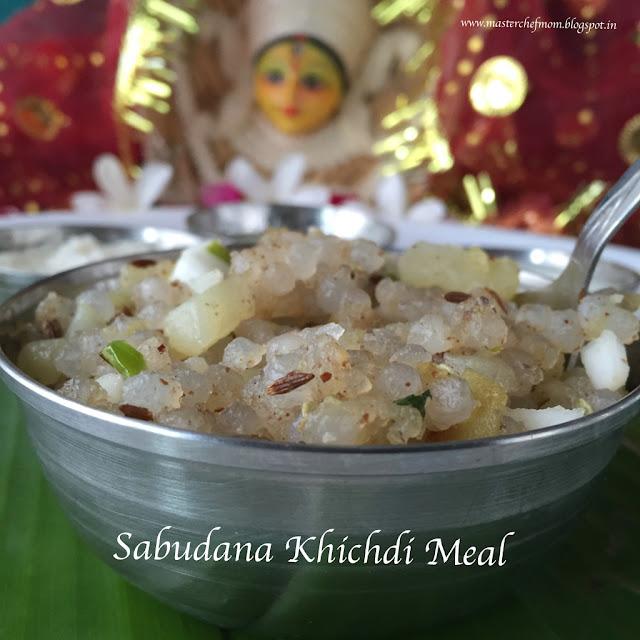 Sabudana Khichidi