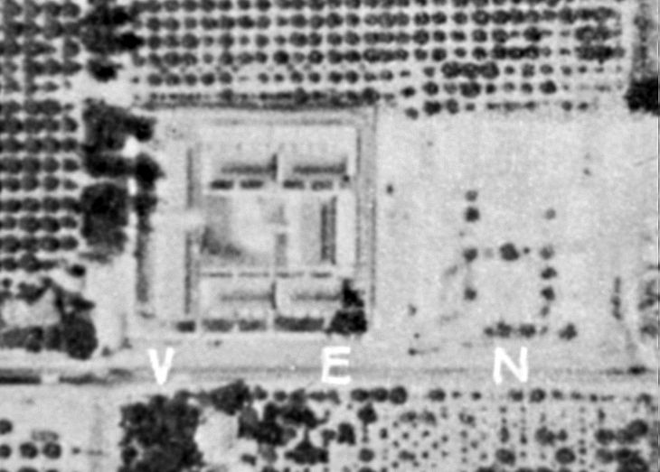 Aerial Photo From 1963 Courtesy The Orange County Archives.