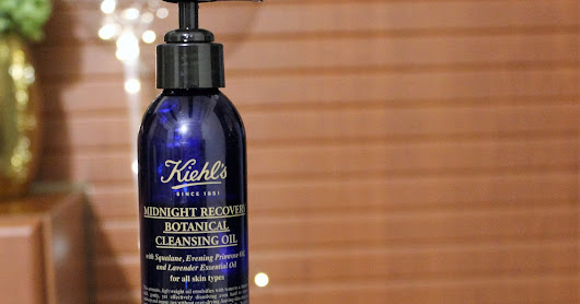 Kiehls Midnight recovery botanical cleansing oil review