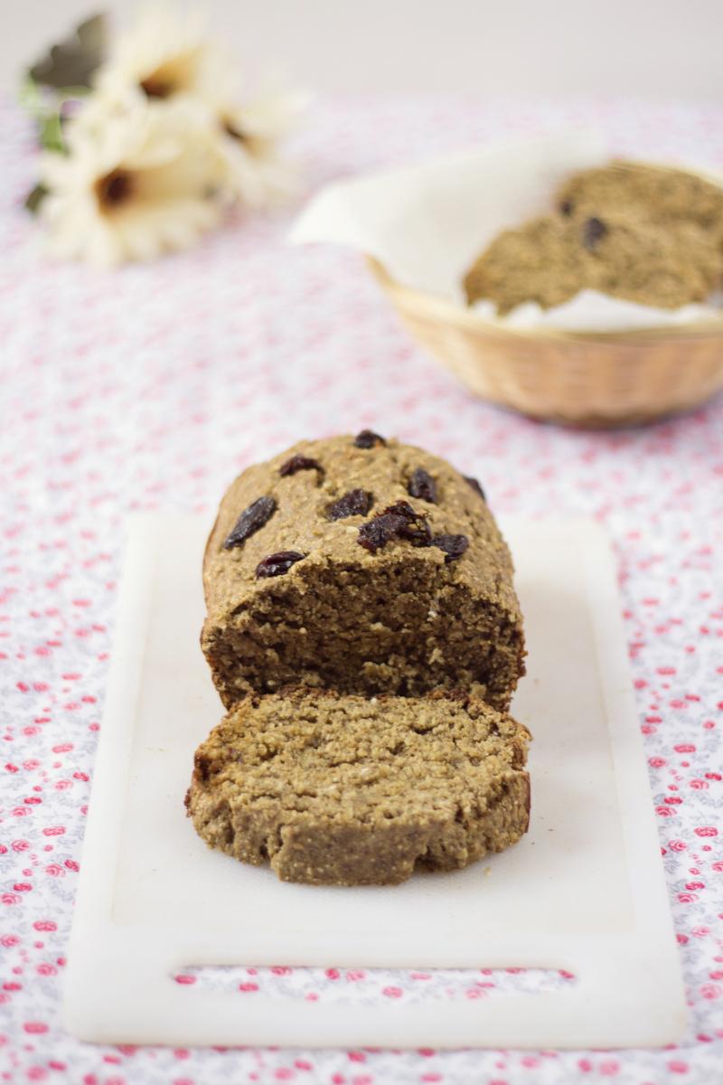 torta de avena y linaza saludable