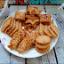 Crispy, Crunchy Baked Savoury Crackers