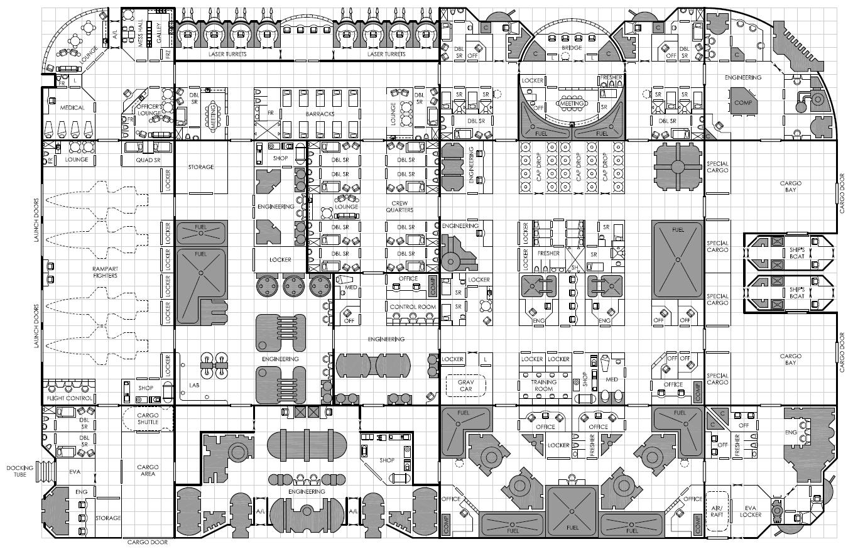 starship floor plan generator www galleryhip com the serenity rpg ship layout floor plans main deck plans