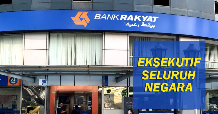 Jawatan Kosong di Bank Rakyat - Kekosongan di Seluruh Negara