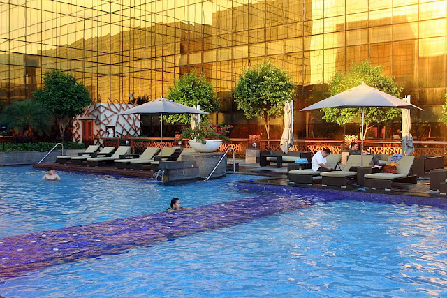The Hyatt City of Dreams Manila Pool