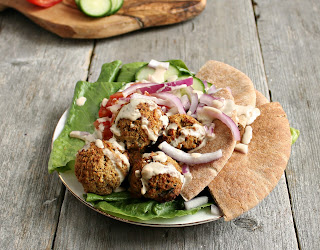 "Oven ""Fried"" Falafel"