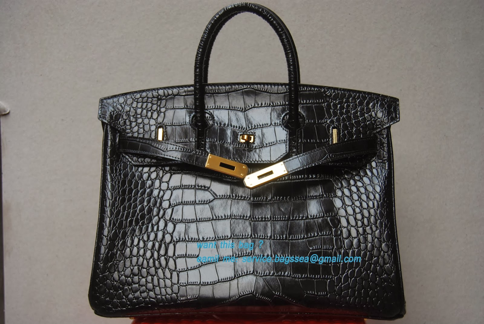 a32fcd1e90 hermes belts: Hermes birkin 30 shiny black crocodile leather with ...