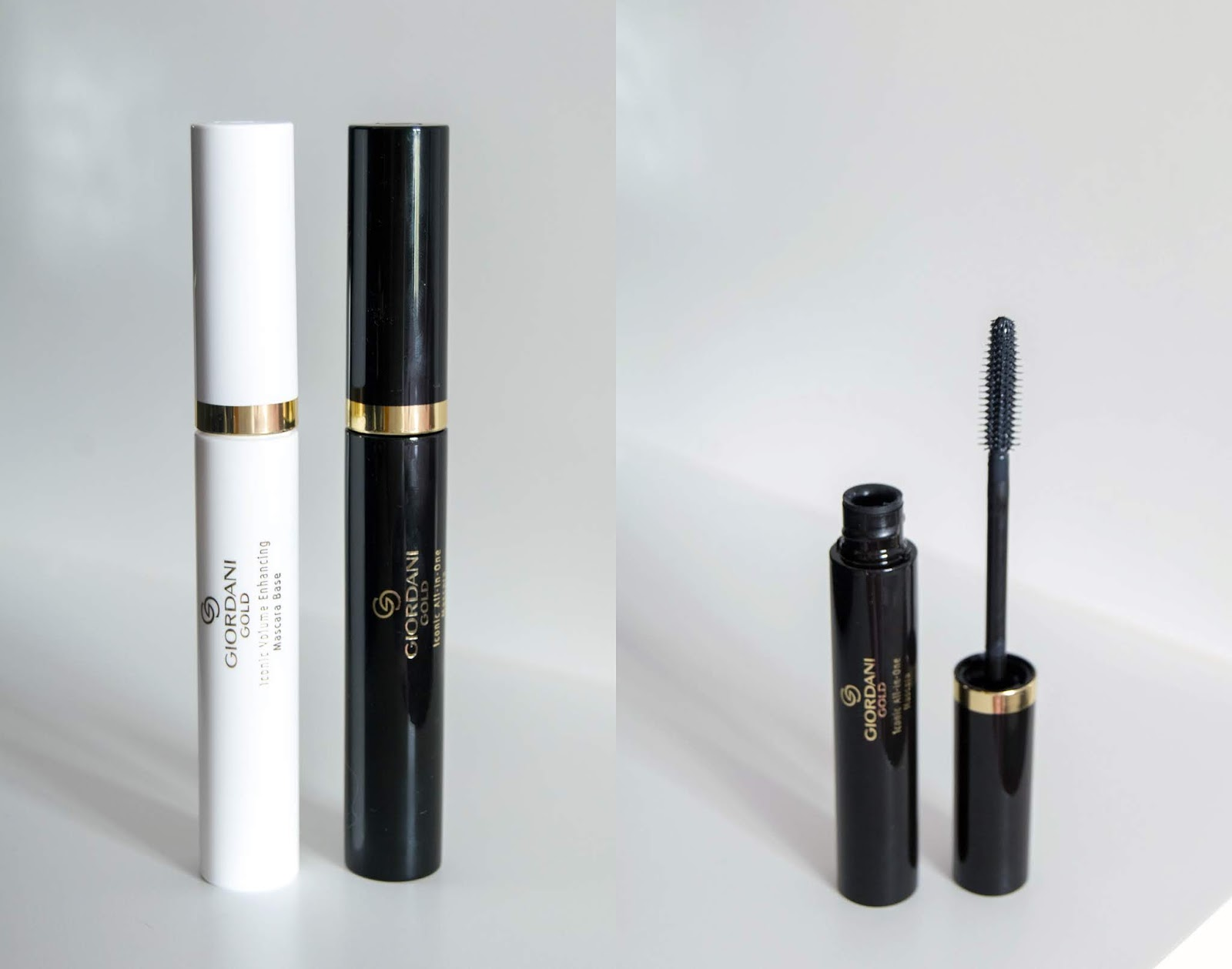 Iconic Volume Enhancing Mascara Base + Iconic All-in-One Mascara Giordani Gold  - Oriflame