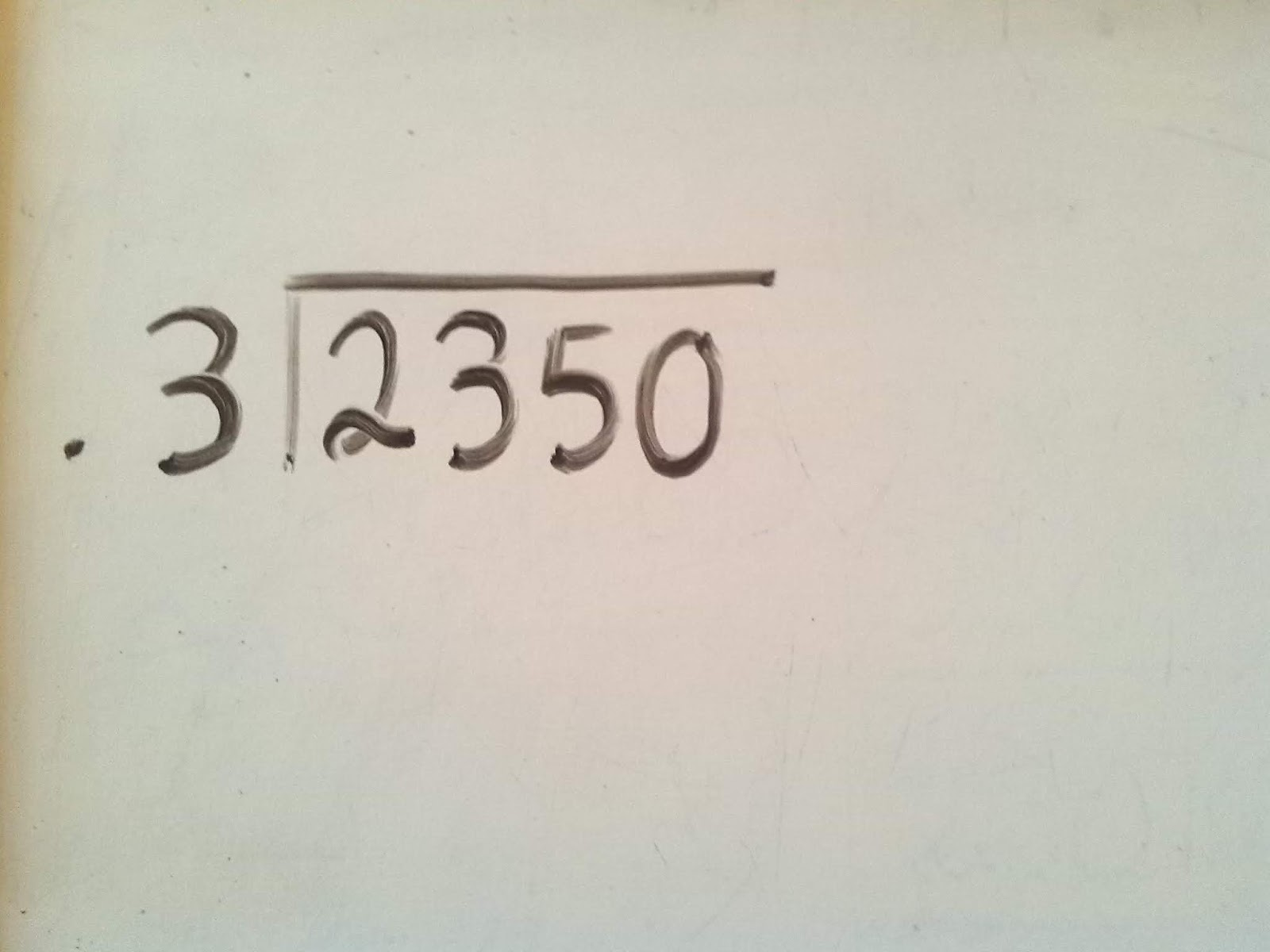 Aprendiendo Los Números División Con Punto Decimal