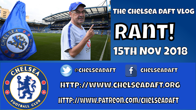 Welcome to the subjective view on Chelsea - The Chelsea Daft Vlog!