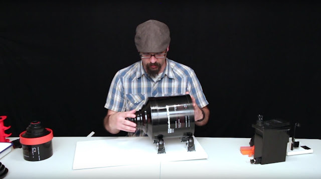 Large Format Film Photography: All 4x5 Film Developing/Processing Methods