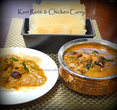 Kori Rotti Chicken Curry