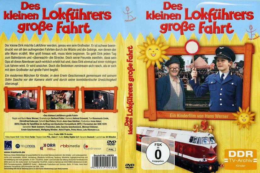 Большая поездка маленького машиниста / Des kleinen Lokführers große Fahrt.