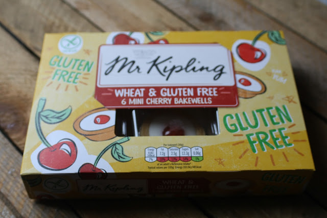 Mr Kipling Wheat & Gluten Free Mini Cherry Bakewell Tarts on Anyonita-Nibbles