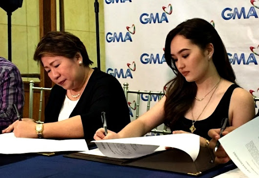 Former Kapamilya Teen Actress 'Mika Dela Cruz' signs contract with GMA Network!