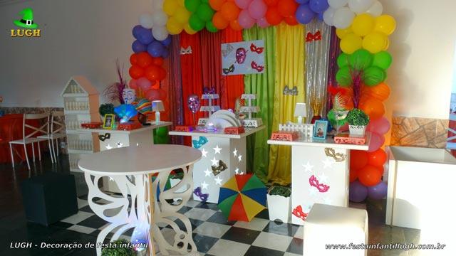 Decoração provençal - Festa de aniversário feminino tema Carnaval
