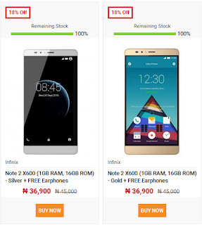 buy phones on jumia mobile week