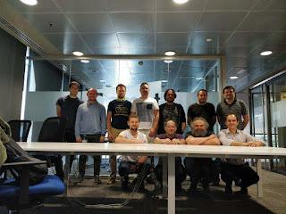 asistentes al curso 3 de TDD en Comet