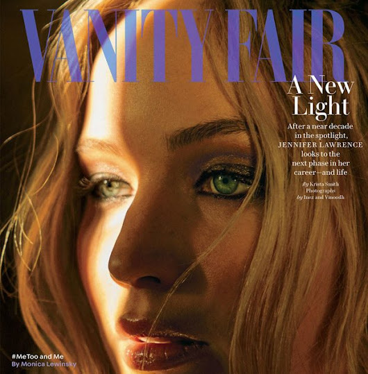 JENNIFER LAWRENCE COVERS 'VANITY FAIR' MARCH 2018 TALKS ABOUT 'RED SPARROW'