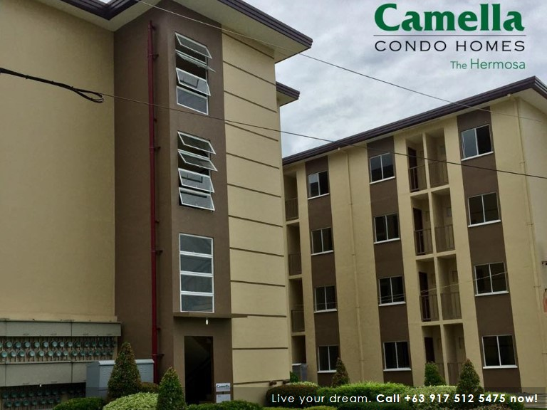 Studio 24 Sqm (Move-In Ready) - Camella Condo Homes Las Pinas| Camella Affordable House for Sale in Las Pinas City