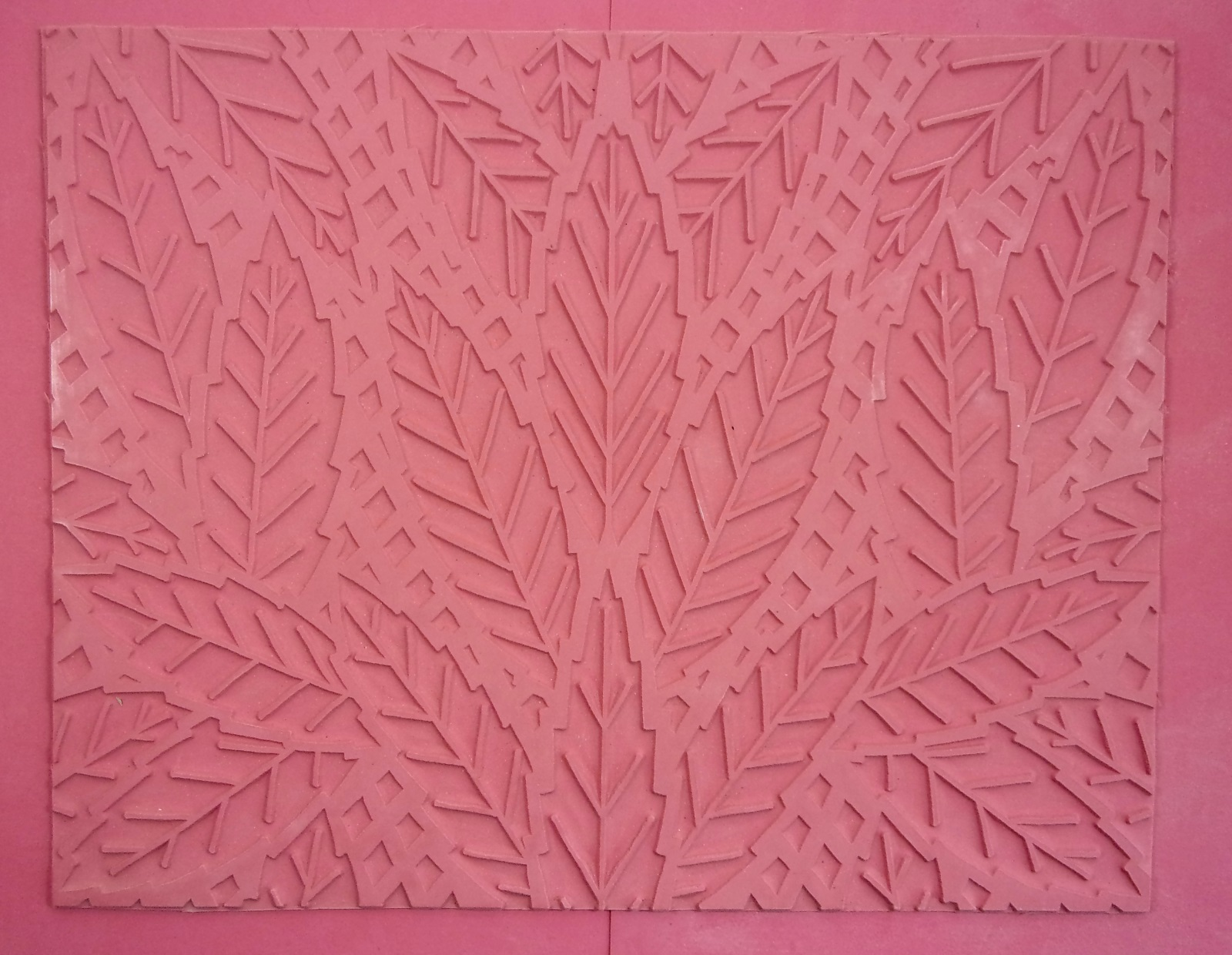Lattice Leaf Intaglio Mat