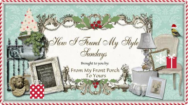 Christmas Edition- How I Found my Style Sundays- From My Front Porch To Yours