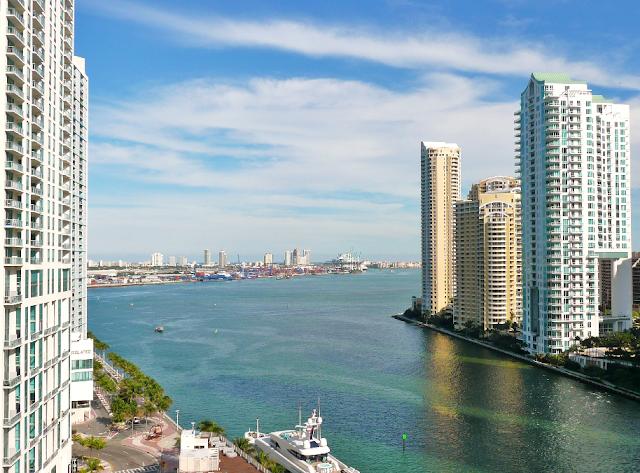 Clima quente em Miami