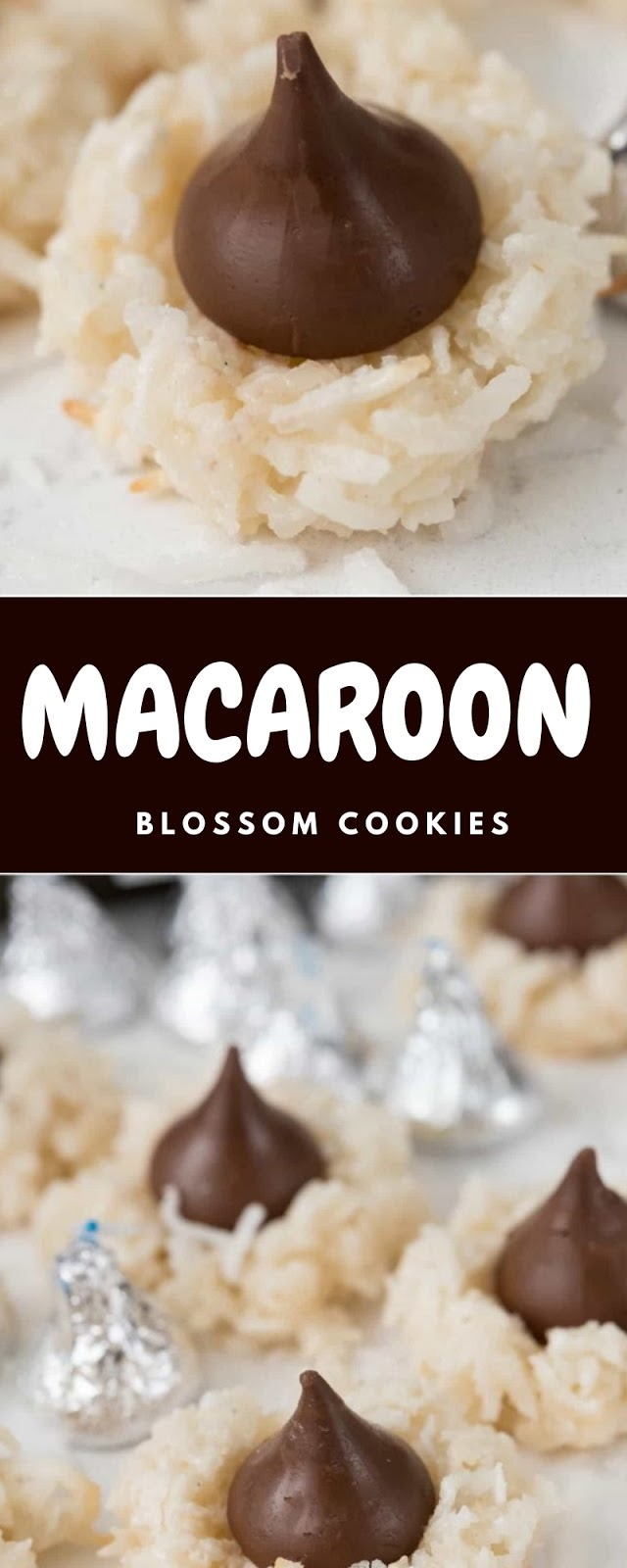 Macaroon Blossom Cookies