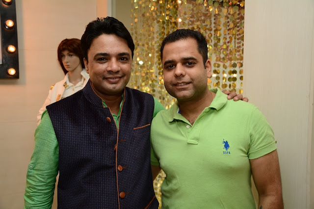 Chef Nishant Chaubey with Chef Anuj Wadhwan