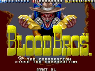 街機:血兄弟(BLOOD BROTHERS)+金手指,經典第一人稱槍戰遊戲!